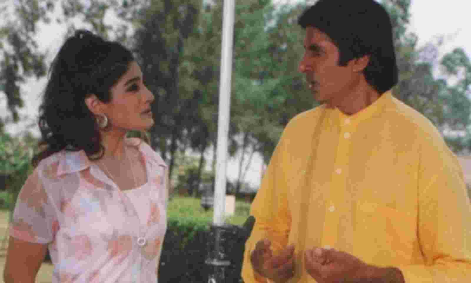 जब बिग बी और गोविंदा के साथ लंच साझा करती थी Raveena Tandon