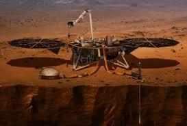 नासा का इनसाइट लैंडर मंगल गृह की अन्दर की तस्वीरें उजागर करता है
