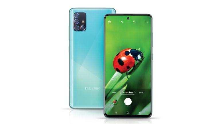Galaxy A71 फोन को सैमसंग इंडिया की साइट पर लिस्ट किया