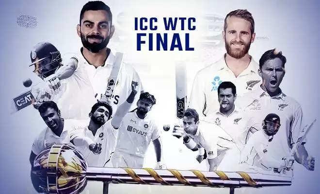 WTC Final IND vs NZ: बारिश की वजह नहीं हो सका खेल तो इस अंदाज में टाइमपास करते नजर आए भारतीय खिलाड़ी