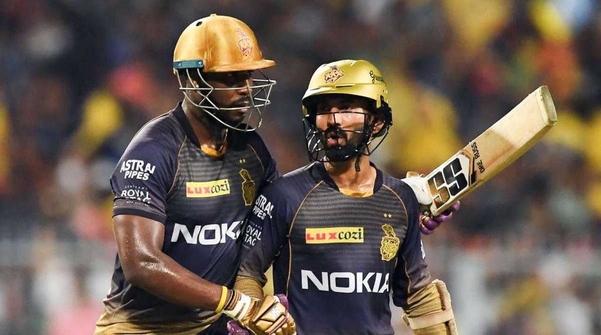 IPL 2020:  Dinesh Karthik और Andre Russell के बीच है विवाद?KKR के मेंटोर ने दिया ये जवाब