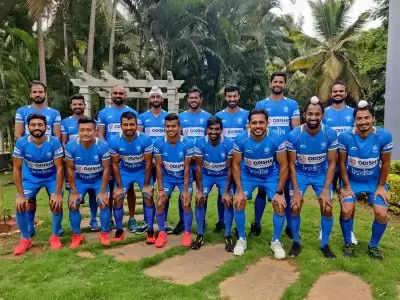 Hockey  इंडिया ने टोक्यो ओलंपिक के लिए 16 सदस्यीय पुरुष टीम घोषित की (लीड-1)