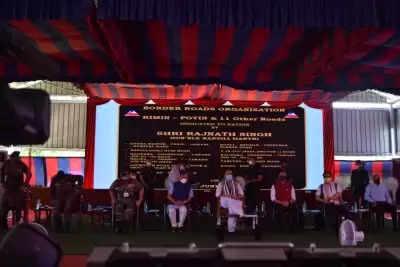 भारत शांतिप्रिय राष्ट्र, लेकिन आक्रामकता का मुंहतोड़ जवाब दे सकता है : Rajnath singh