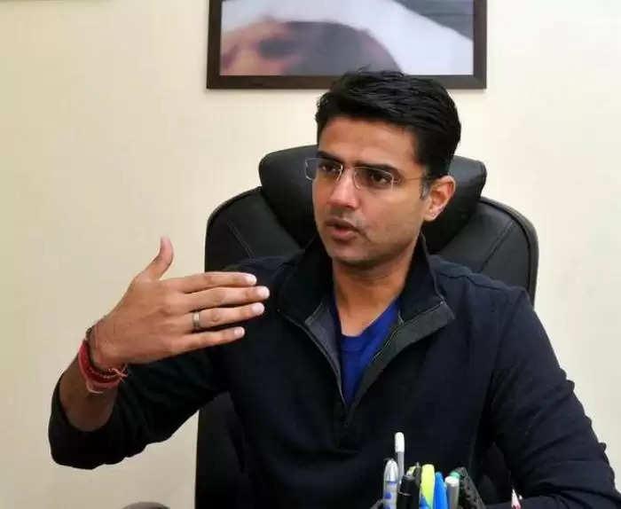"""Sachin Pilot: काजी निजामुद्दीन से मुलाकात के बाद बोले पायलट """"हम सब एक है"""""""