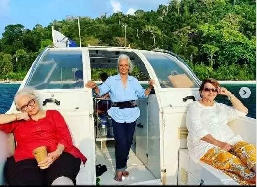 Waheeda-Asha-Helen: उम्र के इस पड़ाव में एक साथ अंडमान की वादियों में वेकेशन मना रही आशा, वहीदा और हेलेन
