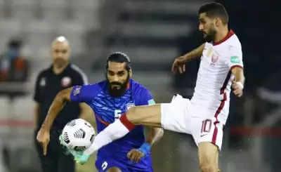 Asian Cup Qualifier : भारत को कतर ने 1-0 से हराया