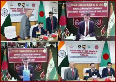 Indo-Bangladesh border पर शांति बनाए रखने के लिए एहतियाती कदम उठाएंगे बीएसएफ, बीजीबी