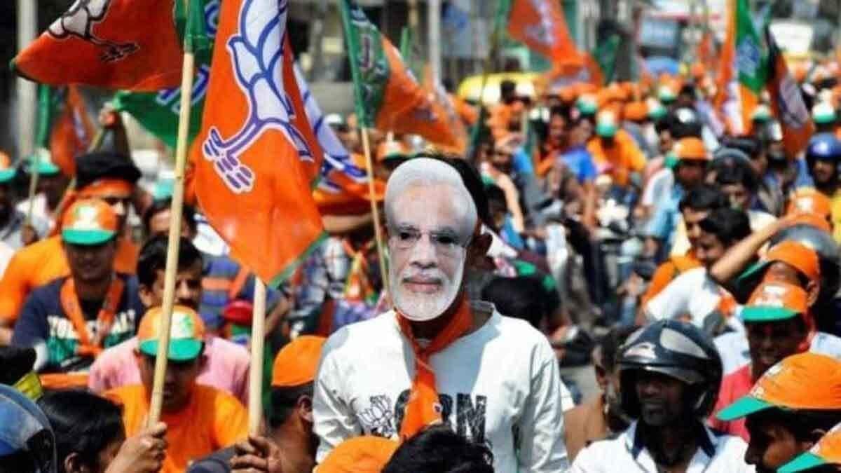 Bihar : भाजपा ने जारी किया चुनावी गीत 'मोदी जी की लहर'