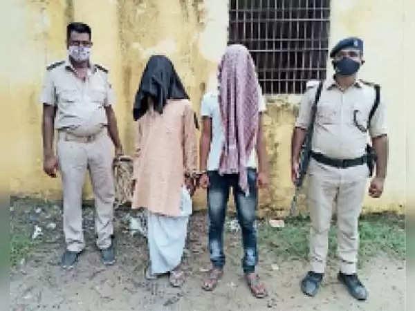 मधुबनी : गोपाल महतो हत्याकांड के दो आरोपी झंझारपुर में पकड़े गए, भेजे गए जेल