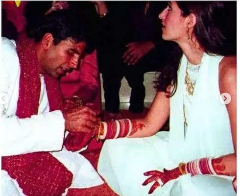 Akshay Kumar-Twinkle Khanna: 20 साल बाद लीक हुई अक्षय कुमार और ट्विंकल खन्ना की शादी की अनदेखी तस्वीरें