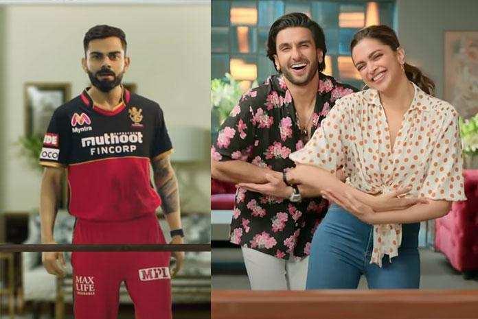 IPL 2020: Jio Fiber के नए अभियान के लिए IPL क्रिकेटर्स विराट, धोनी और अन्य ने दीपिका, रणवीर के साथ डांस किया