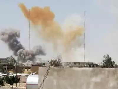 Yemen' के मारिब में सऊदी नेतृत्व वाले हवाई हमलों में 20 हाउती मारे गए