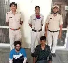 Rewari पिस्टल प्वाइंट पर जूते व जेवरात लूटने के आरोपियों को दो दिन के रिमांड पर लिया