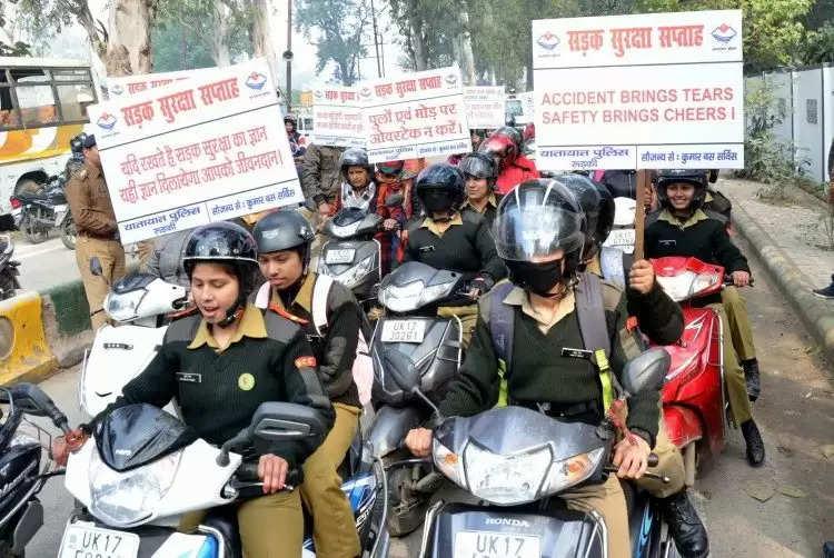 Jaisalmer में आज से चलाया जाएगा हेलमेट चेकिंग अभियान