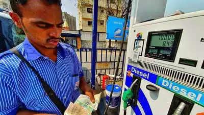 Bhopalमध्य प्रदे, ईंधन की कीमतों में लगातार छह दिन की बढ़ोतरी