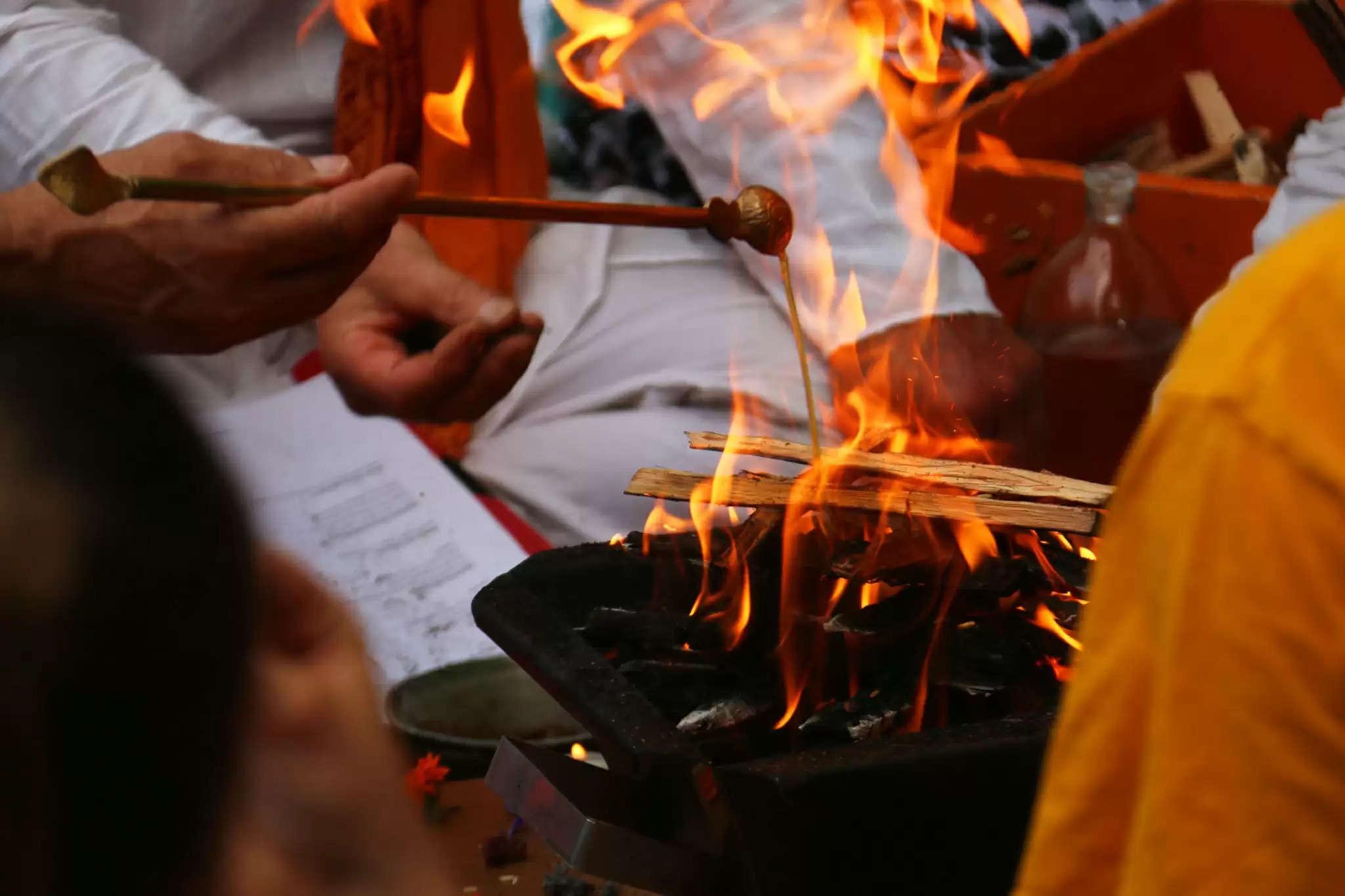 Navratri navami 2021 havan pujan shubh muhurat and vidhi and bhoj