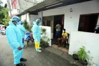 Srilanka के स्वास्थ्य अधिकारियों ने कोविड मामलों में गिरावट के बावजूद सतर्क रहने का किया आग्रह