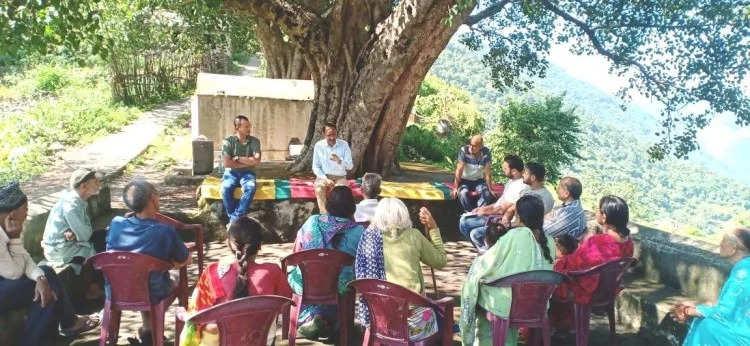 Rishikeshखंड गांव में एडवेंचर की संभावना तलाशने पहुंची पर्यटन विभाग की टीम
