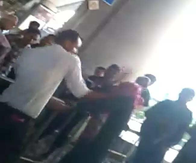 lucknow लखनऊ की थप्पड़ गर्ल के बाद लात-घूसों वाला युवक, युवती को जमकर पीटा