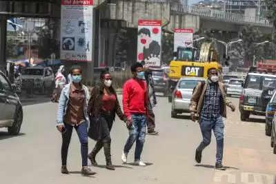 Ethiopia में कोरोना के 1,664 नए मामले दर्ज
