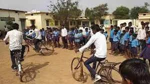 Manali बवेली से लांग साइकिल रैली रवाना