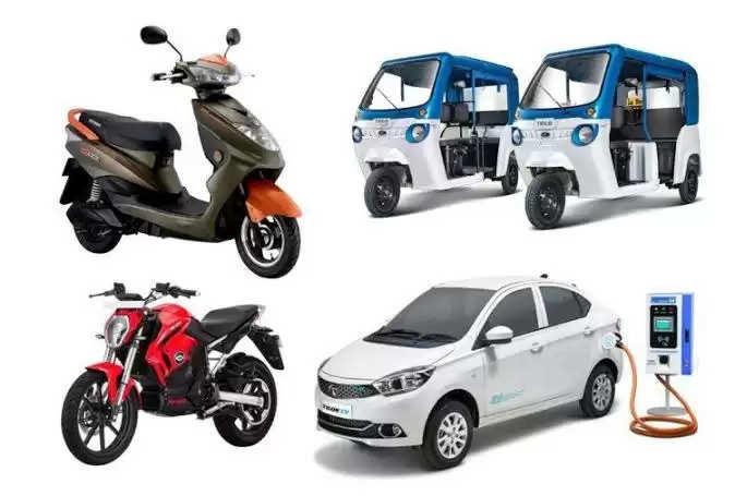 Raipur इलेक्ट्रिक वाहन समय की मांग : मंत्री