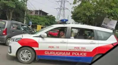 शख्स ने Gurugram Police पर लगाया मारपीट का आरोप, दर्ज कराई शिकायत