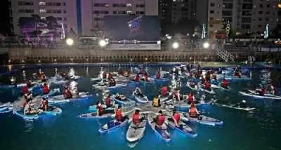 Busan Film Fest समुद्र तट पैडलबोर्ड पर फिल्म देखने का अनुभव देगा!