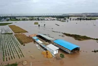 चीन के शन्शी में आंधी तूफान से 15 की मौत, 3 लापता