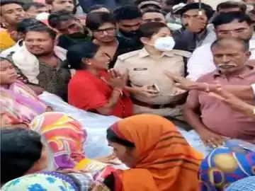 Bilaspur शराब का विरोध करने पर युवक की हत्या, हालत में थाने के सामने फेंका