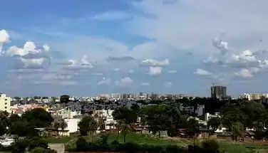 Indore दो दिन से बारिश नहीं होने से शहर का मौसम सुहाना