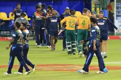 Colombo T20 दक्षिण अफ्रीका ने श्रीलंका को नौ विकेट से हराया, सीरीज में हासिल की 2-0 की बढ़त