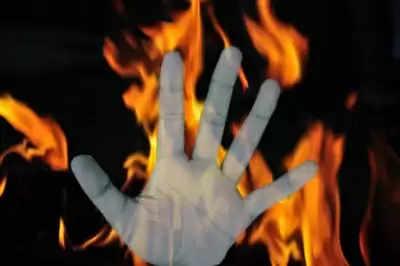 Himachal Pradesh के घर में आग लगने से एक ही परिवार के चार लोग जिंदा जले