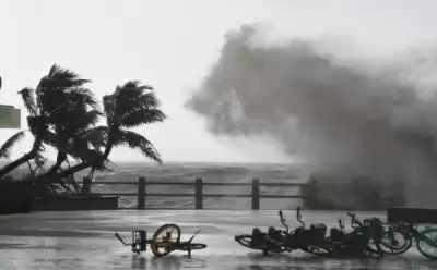 Cyclone Kompasu कोम्पासु ने चीन के द्वीप प्रांत में दी दस्तक