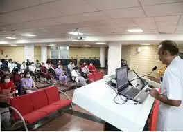 Rishikesh एम्स में नर्सिग ऑफिसरों की ट्रेनिंग शुरू