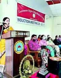 Shimla धामी कालेज में इंडक्शन कार्यक्रम