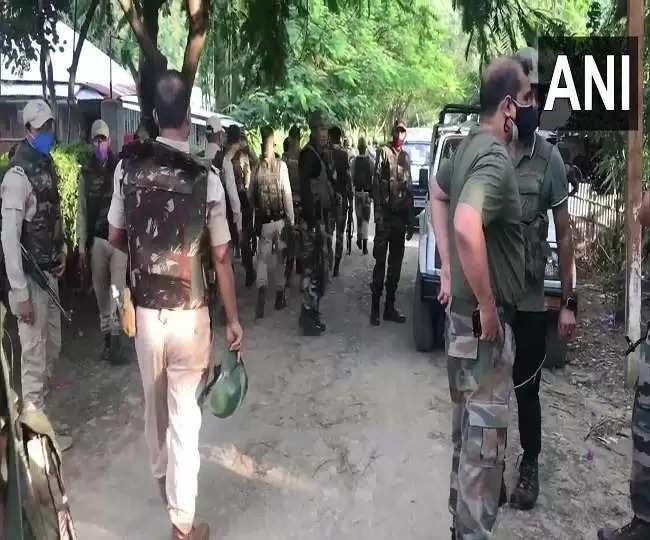 Imphal मणिपुर, कुकी उग्रवादियों ने भीड़ पर की फायरिंग, पांच की मौत ; सर्च अभियान जारी