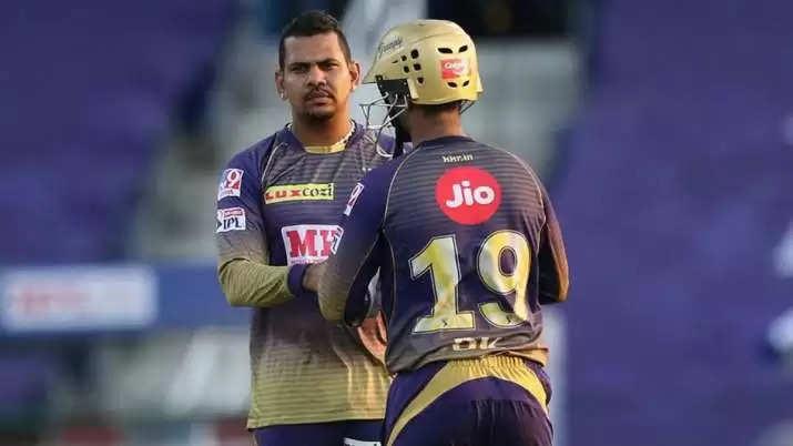 Sunil Narine IPL 2021 RCB  VS KKR--1