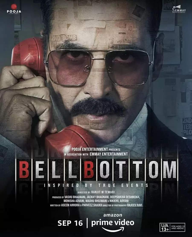 """16 सितंबर को अमेज़न प्राइम वीडियो पर रिलीज हो रहीं हैं अक्षय कुमार की """"Bell Bottom"""""""