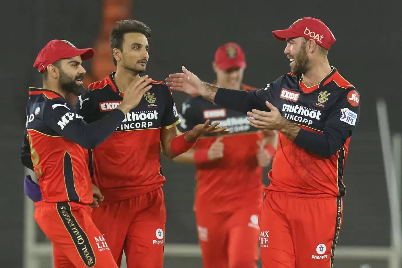 RCB vs KKR IPL 2021