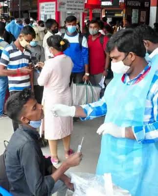 Kerala में 15058 कोविड मामले सामने आए, टेस्ट पॉजिटिविटी रेट 16.39 प्रतिशत