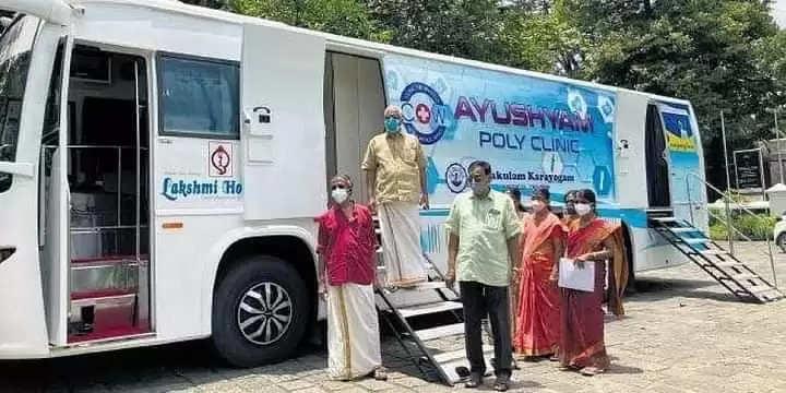 Kochi ग्रामीण क्षेत्रों में स्वास्थ्य सेवा प्रदान करने के लिए क्लिनिक ऑन व्हील्स शुरू