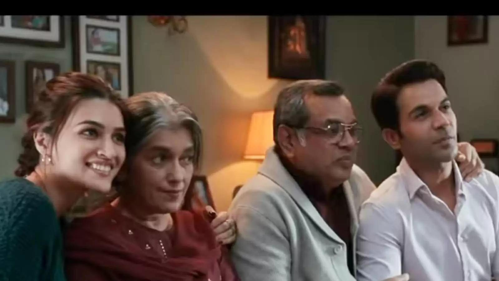 kriti Sanon And Rajkummar Rao movie Hum Do Hamare Do Teaser