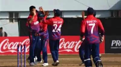 ICC Men's Cricket World Cup League-2 again, सोमवार को नेपाल-अमेरिका के बीच होगा मैच