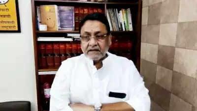 Maharashtra minister Malik का आरोप, एजेंसी ने उनके परिजनों को फंसाया