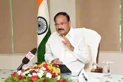 Vice President Naidu बुधवार को संसद टीवी का उद्घाटन करेंगे