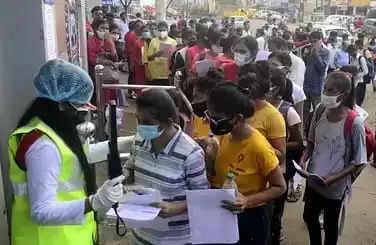 Bhopal भोपाल में आधे से कम ने दी NEET की परीक्षा