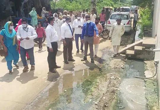 Faridabad चिल्ली गांव में बुखार से हड़कंप:11 दिन में 9 बच्चों की मौत