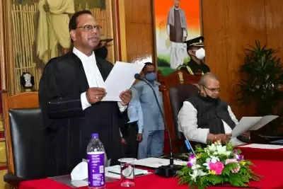 मेघालय, सिक्किम हाईकोर्ट के नए मुख्य न्यायाधीशों ने शपथ ली
