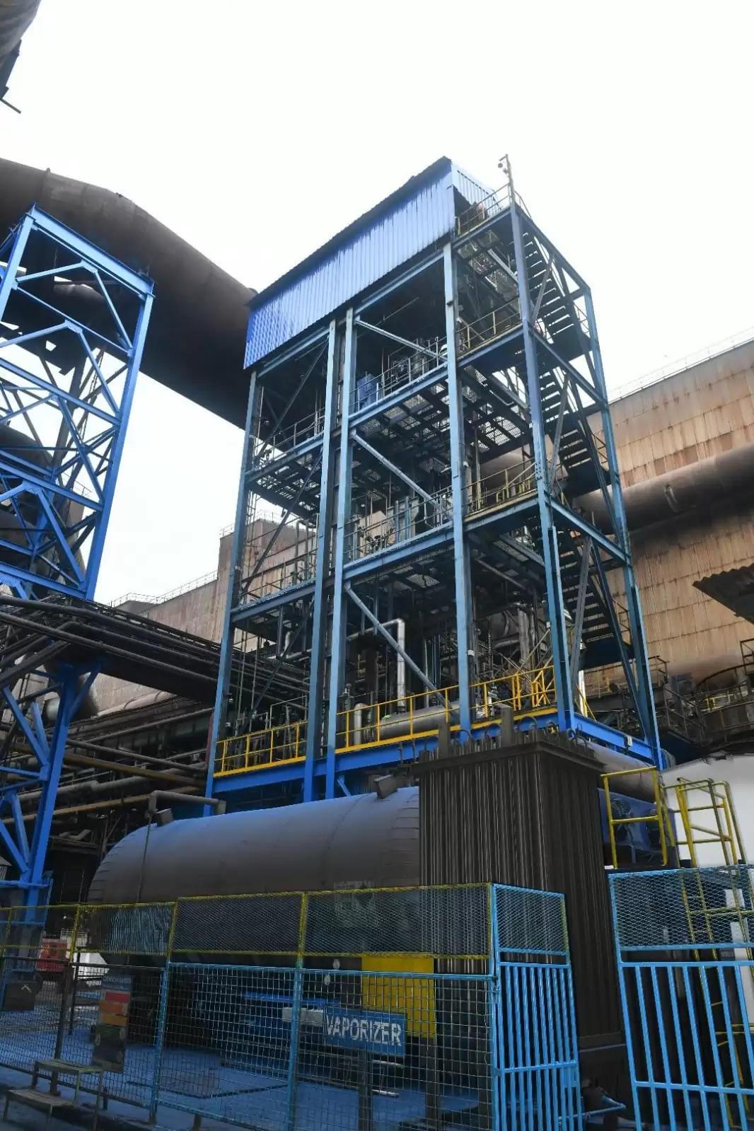 Jamshedpur टाटा स्टील जमशेदपुर ने ब्लास्ट फर्नेस गैस से CO2 कैप्चर के लिए भारत का पहला संयंत्र किया चालू